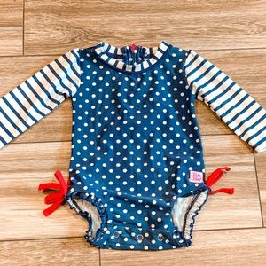 Ruffle Butts One piece Swimsuit Size 3-6M